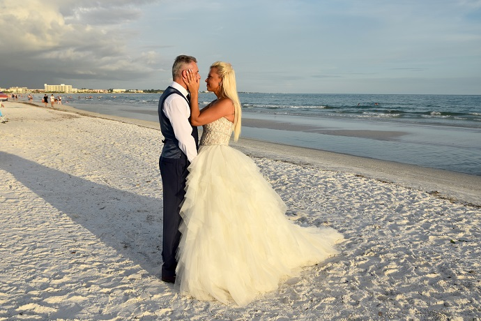Beautiful bride Siesta Key