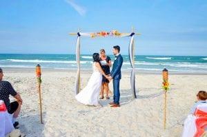 Daytona Beach Weddings and ceremonies by the sea.