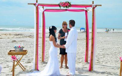 Wedding on Anastasia Beach St. Augustine