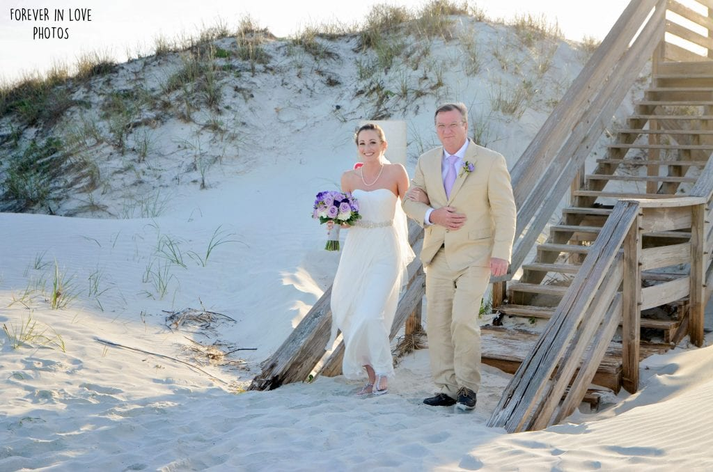 St. Augustine beach weddings at Butler Beach
