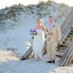 St. Augustine beach weddings at Butler Beach