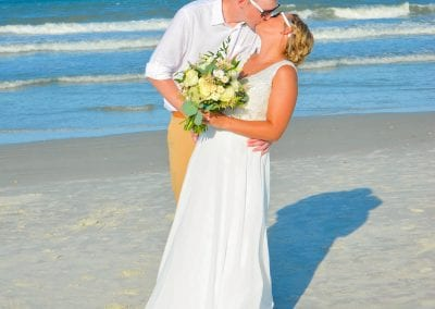 St. Augustine Beach Weddings in Florida.