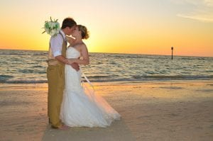 Clearwater Beach Weddings have sunsets that you have been dreaming of.