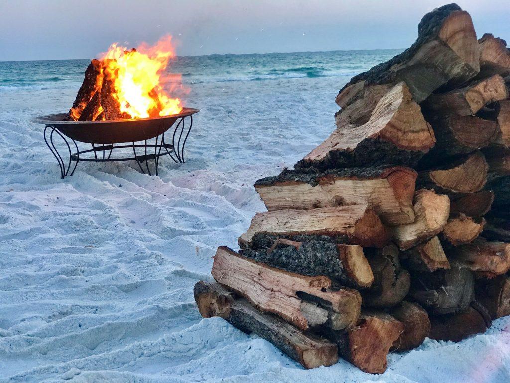 Beach Bonfire Destin FL