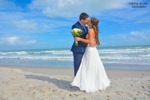 Cocoa Beach Weddings and photography for an all-inclusive beach wedding.