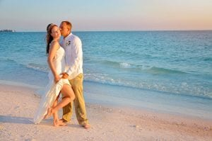 This bride shows off her beach bride style during our Siesta Key Beach Weddings and Photography session.