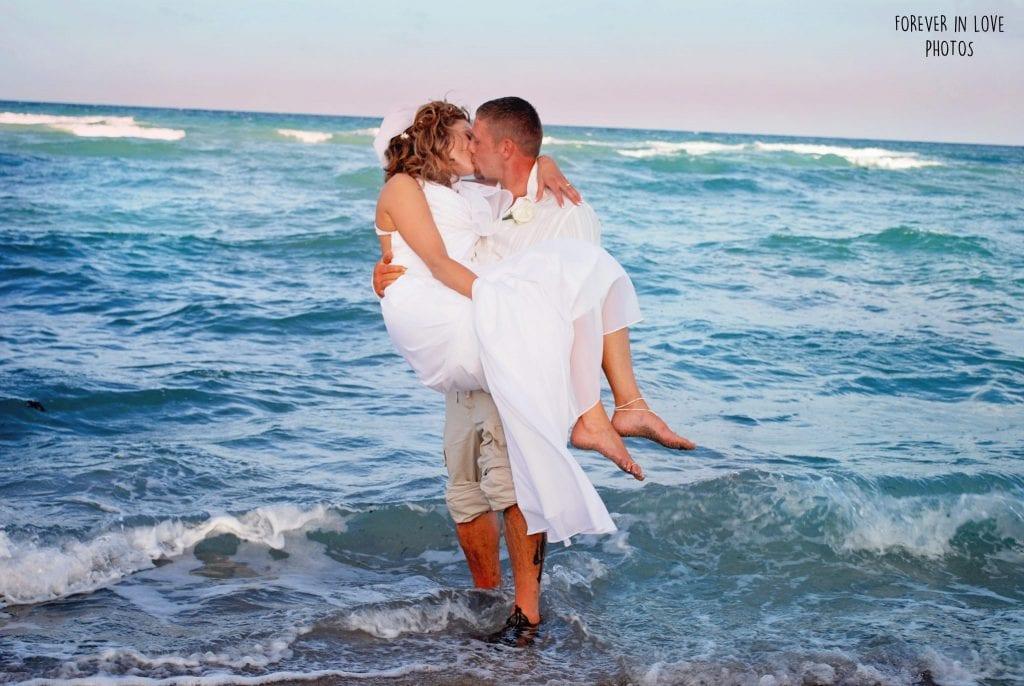 South Beach weddings in Miami Beach, Florida.