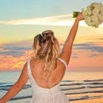 Siesta Key Beach Weddings with beautiful sunsets and photos.