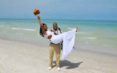Weddings on Pass-A-Grille Beach, Florida