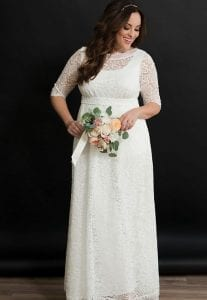 David's Bridal- Sweet Serenity Plus Size Wedding Gown