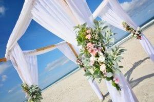 Florida Beach Weddings Distinctive Design Package Canopy