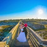 Ponce Inlet Beach Weddings are the ideal spot for views of the lighthouse and elegant walkways.