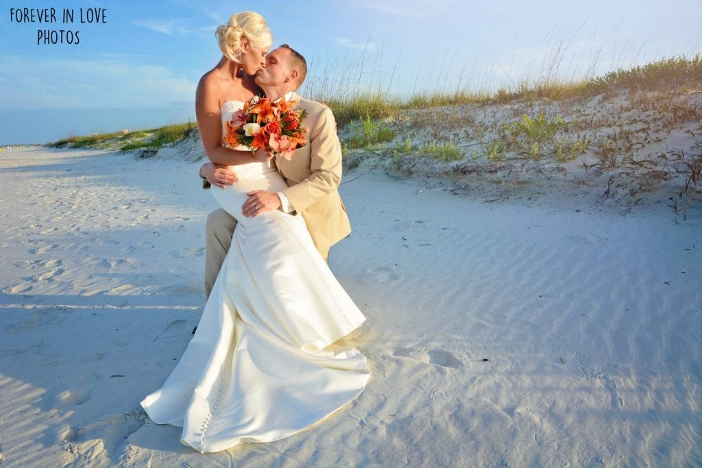 Ponce Inlet Beach Weddings are complete with elegant dunes. This is the ideal location for our Daytona Beach Weddings in Florida.