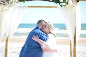 St. Augustine beach weddings. Have a beautiful Florida elopement at one of our Anastasia State Park Weddings.