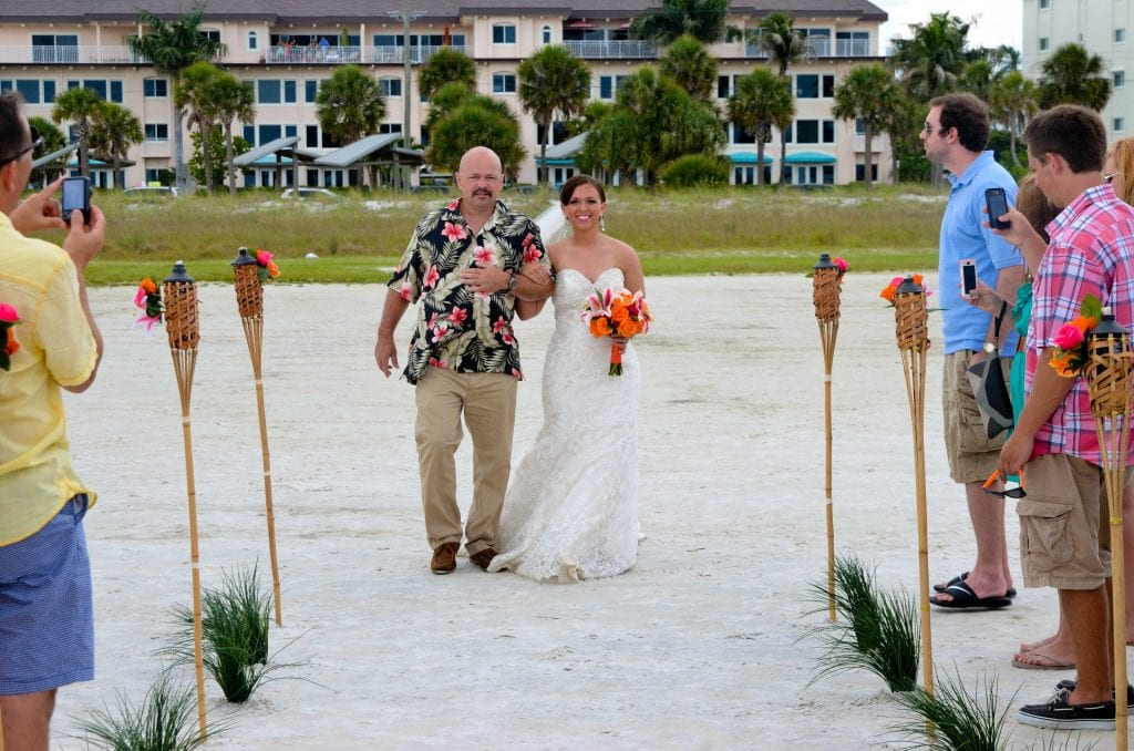 Destin, Florida beach wedding