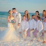 Destin, Florida beach weddings are special when shared with your bridal party.