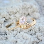Wedding Rings in beach sand