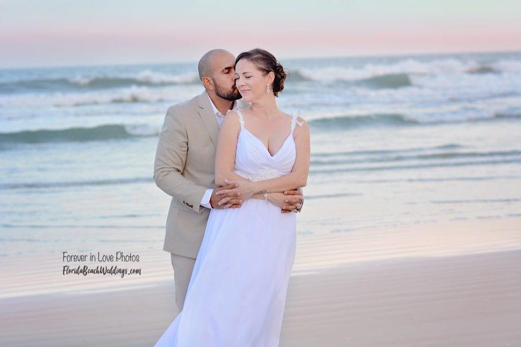Sunset Daytona Beach Weddings at Wilbur by the Sea