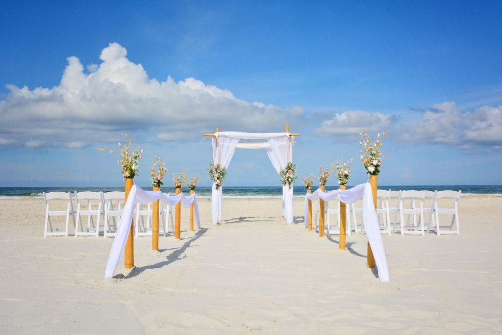 Classic Florida Beach wedding packages