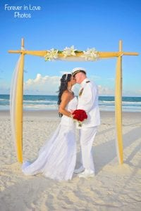 Military Daytona Beach Weddings with Navy and Air force.