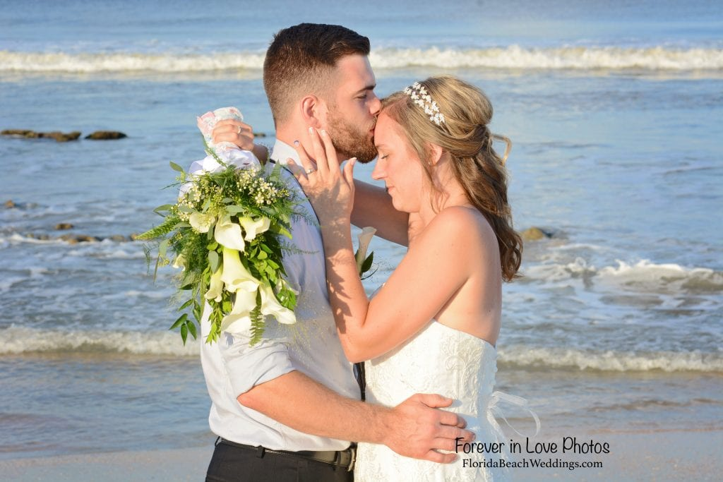posing for photos during our Palm Coast, Florida beach weddings.