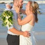 Beach wedding photos from our Palm Coast, Florida beach weddings