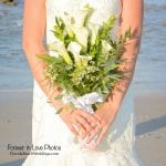 check out these beautiful, natural flowers from one of our Palm Coast, Florida beach weddings