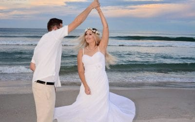 De-Stress with these Beautiful Beach Wedding Dresses