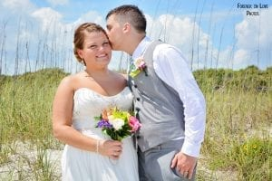 Cocoa Beach Weddings with photos of the dunes, ocean and more.