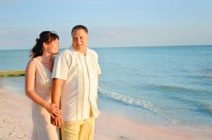 Clearwater Beach Weddings in Florida are the ideal spot for sunset weddings.
