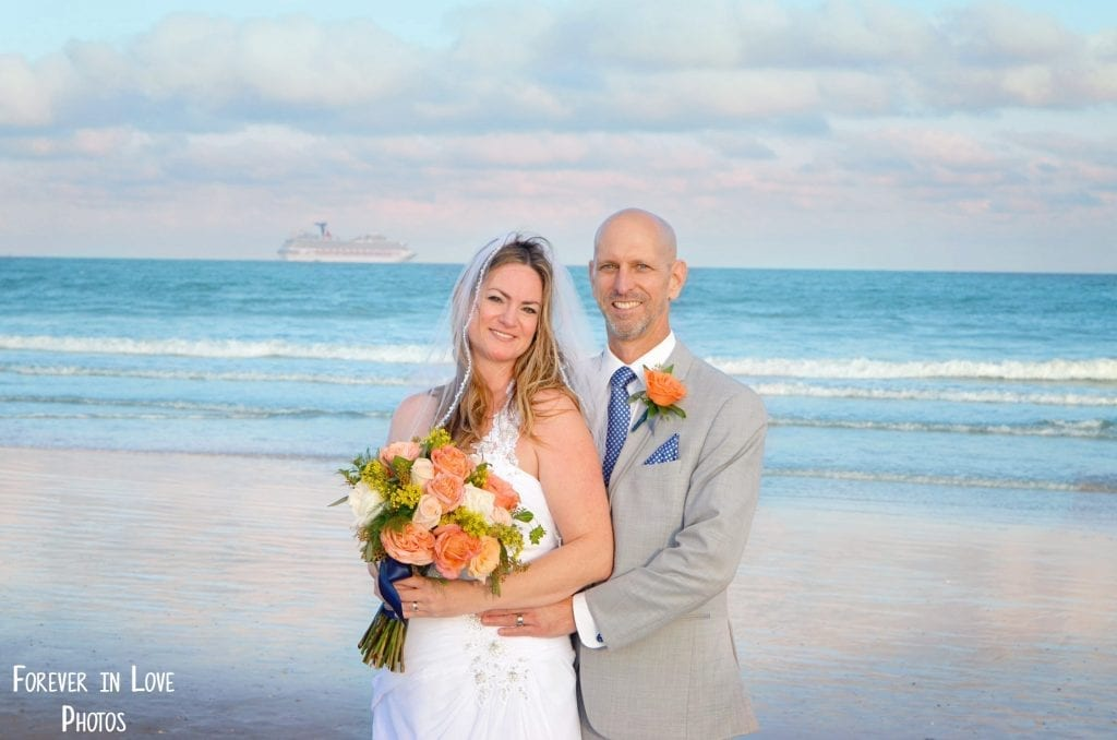 Cocoa Beach Weddings are just minutes from the cruise ports of Orlando.