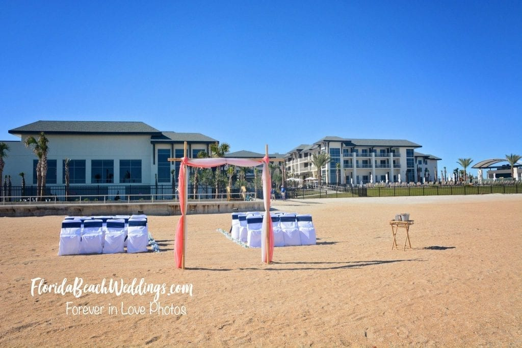 Florida Beach Weddings at Embassy Suites St. Augustine