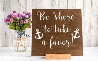 Beach Wedding Favors Under $5