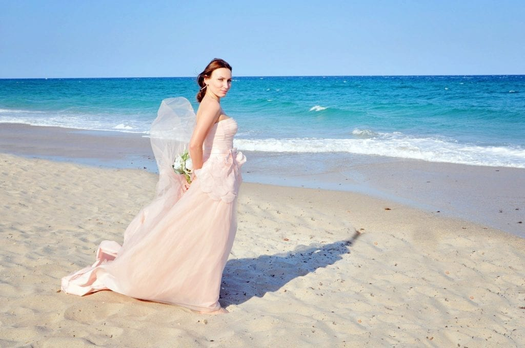 South Beach Weddings on the beach with Florida beach weddings