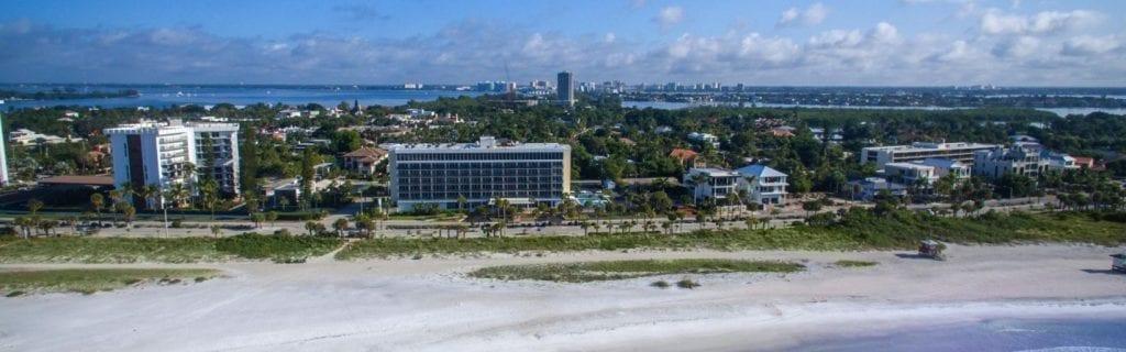 Hotel lido beach weddings in Sarasota, Florida.