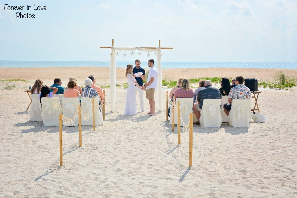 Natural St. Augustine Beach Wedding Packages with all-inclusive options