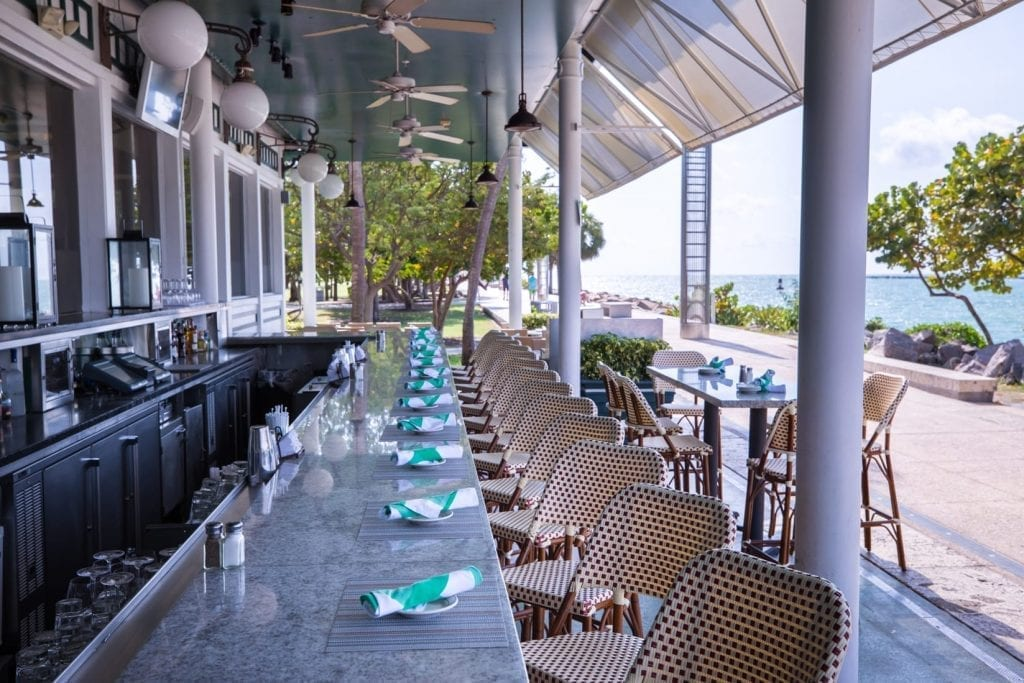 South Beach Weddings reception at Smith and Wolenski