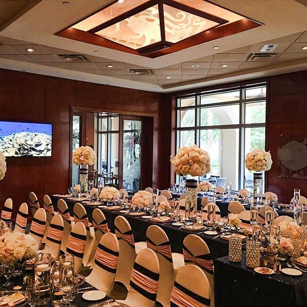 St. Petersburg Beach Weddings and events to dine,