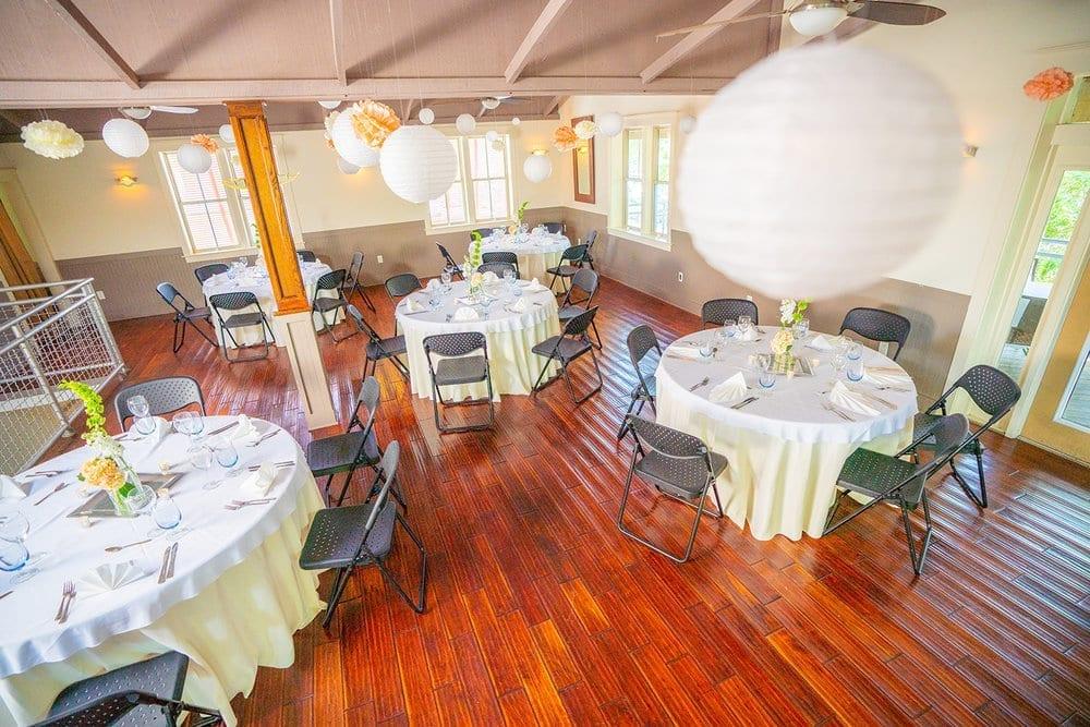 Cafe Karibo beach wedding on Amelia Island