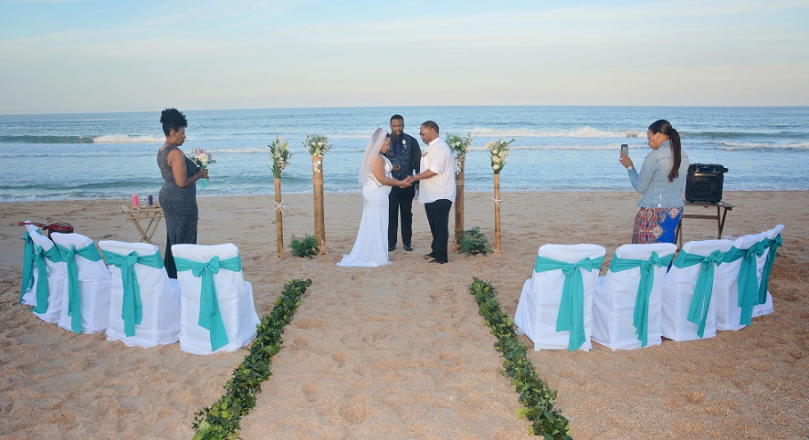Palm Coast Wedding on the beach