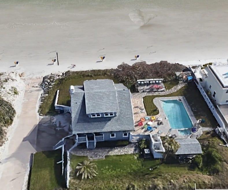 Daytona beachfront home
