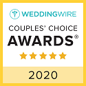 WeddingWire Couples Choice Award 2020 Badge