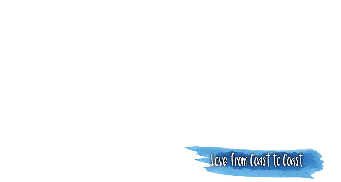 Love from coast to coast banner