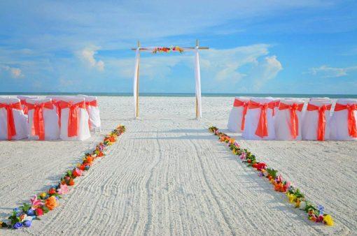Siesta Key Beach Wedding Arch