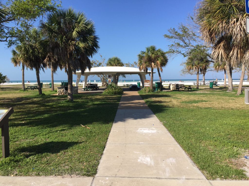 Fort DeSoto Beach in St. Pete, Florida