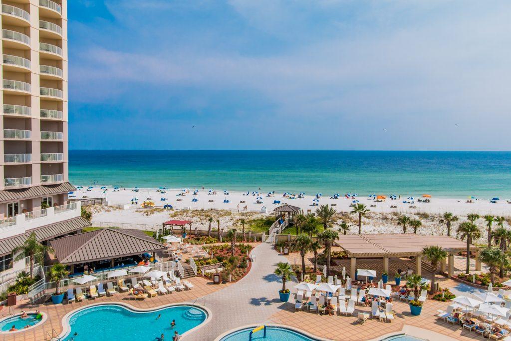 Hilton Pensacola Beach, Gulf beach wedding hotel