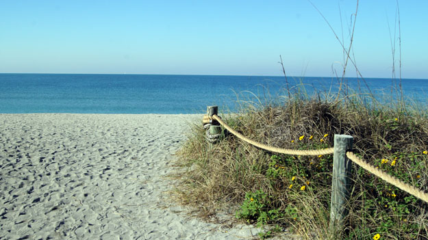 Turtle Beach in Siesta Key, Florida