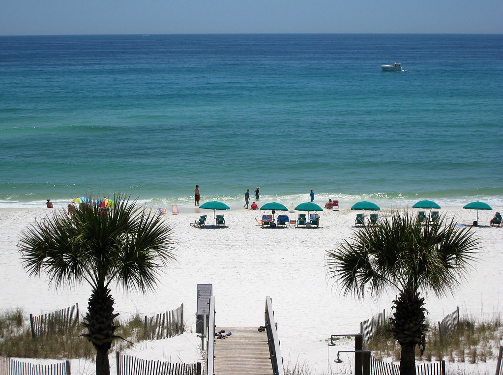 Destin Beach Florida, Gulf beach wedding site