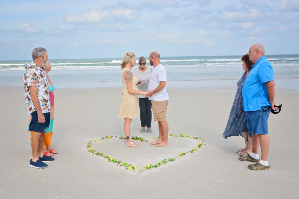 cheap Daytona Beach Wedding Ceremony