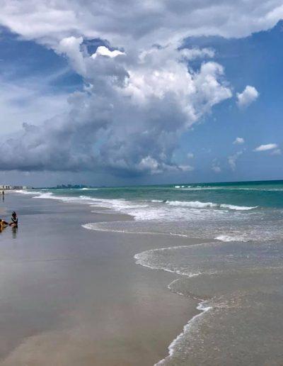 Ponce inlet beach ocean near Daytona